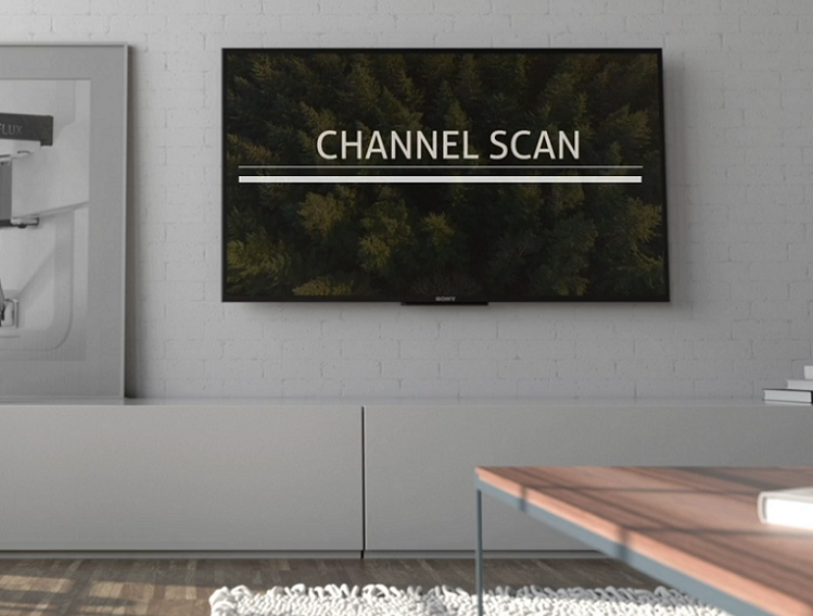 Re-scan your channels
