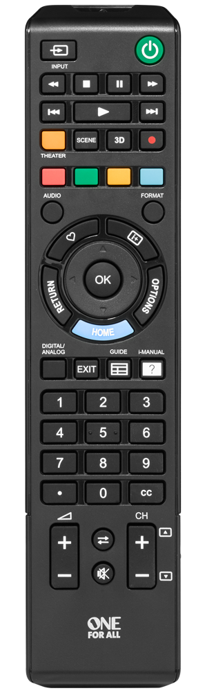 URC1812 Sony TV Replacement Remote